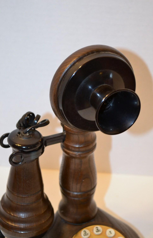 Vintage Candlestick Telephone ATC Vintage Phone PanchosPorch - PanchosPorch