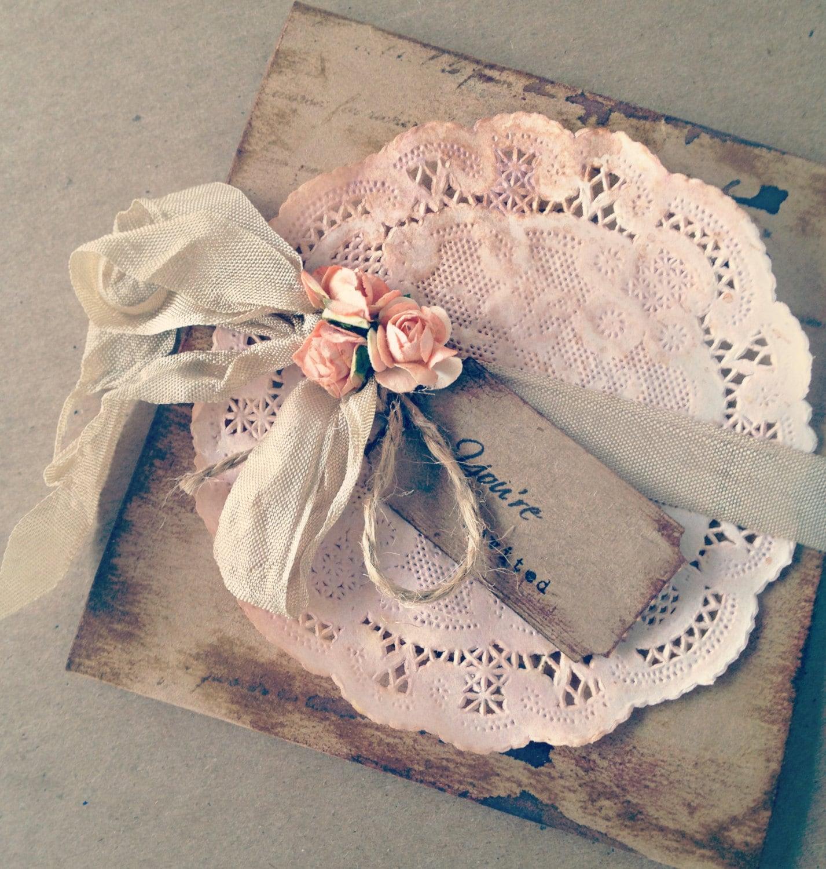 Invitaciones para bodas vintage for Boda vintage