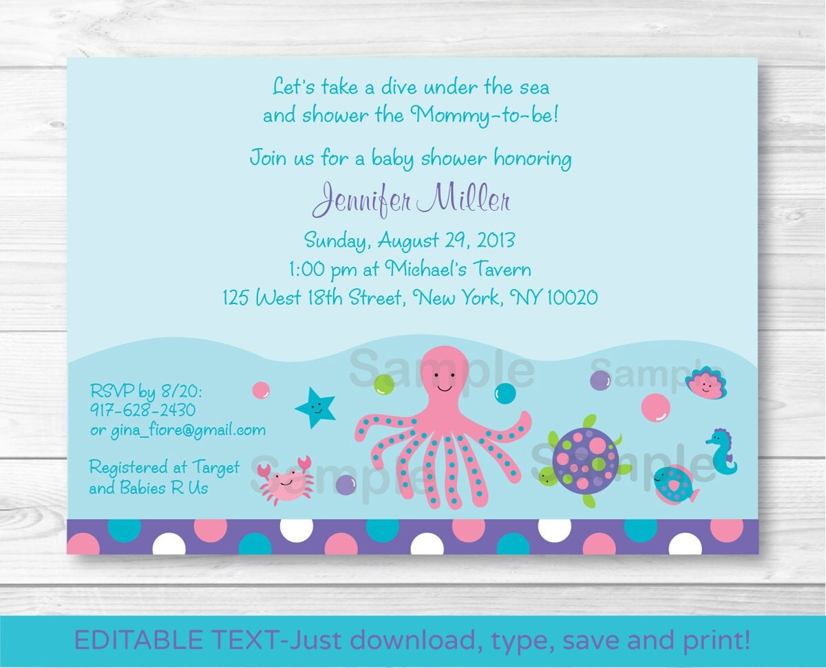 Baby shower invitations - online at Paperless Post