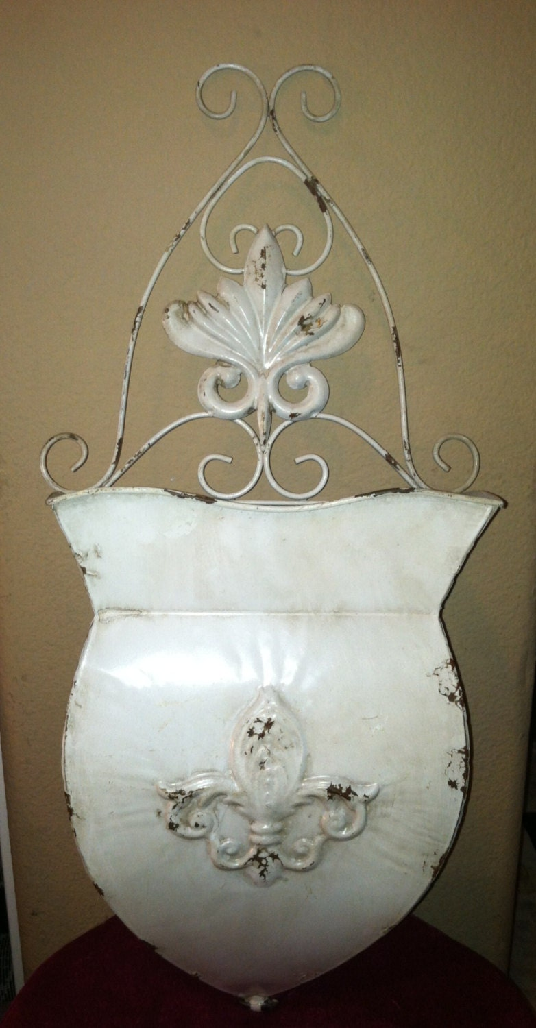 Items Similar To Vintage Shabby Chic Wall Home Decor