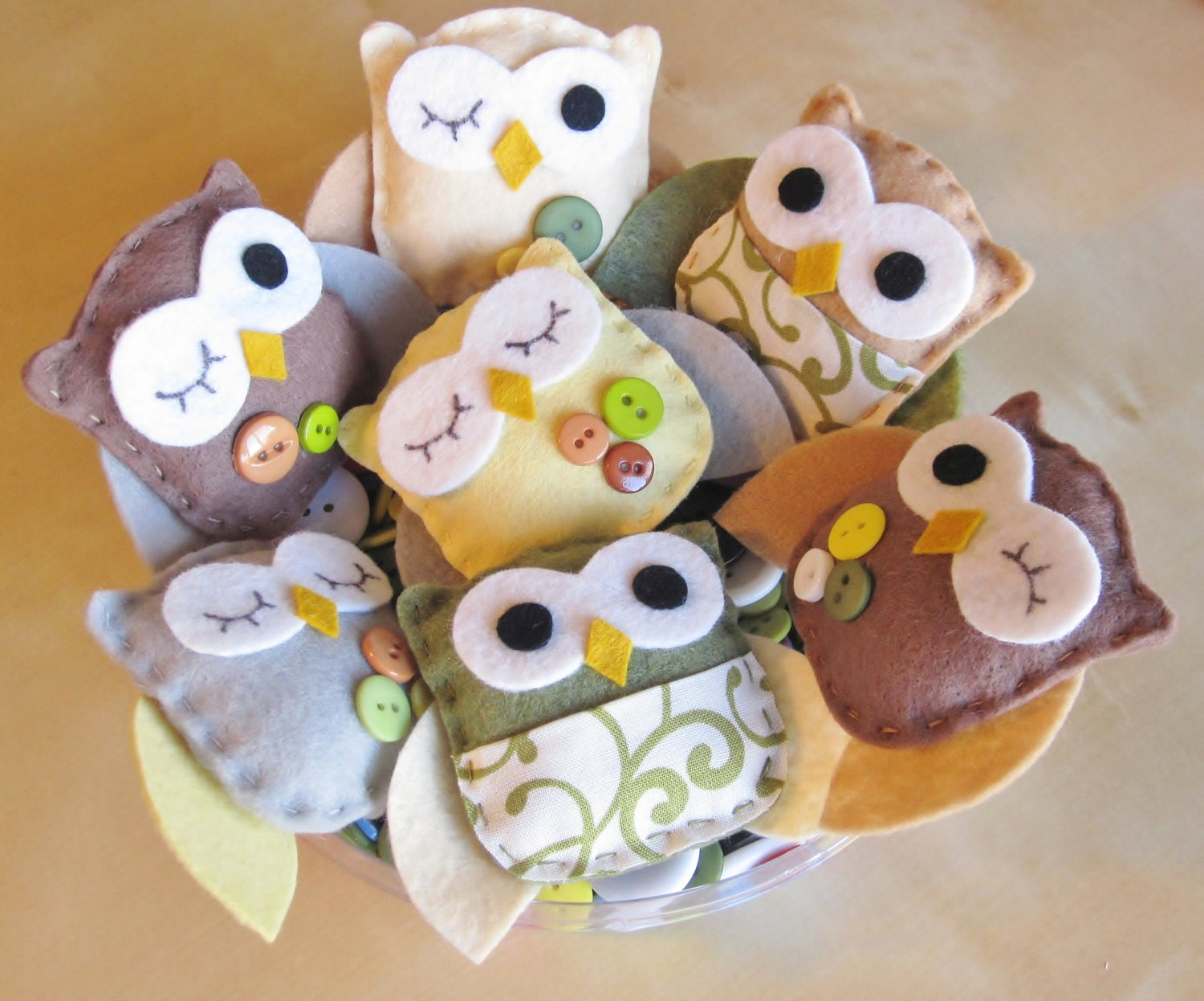 Owl ornaments nursery decoration nursery owl decor for Baby shower owl decoration ideas