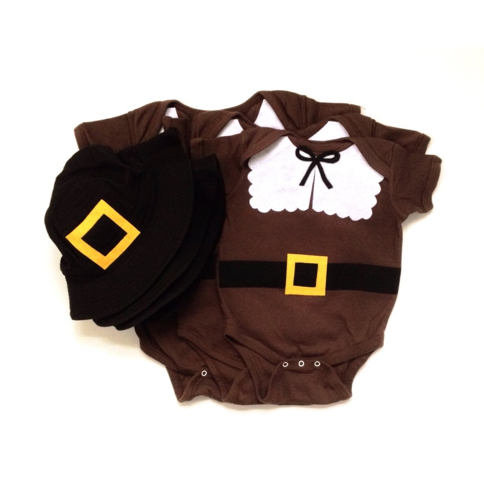 Items similar to thanksgiving pilgrim baby clothes on etsy