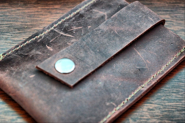 Men s Leather Credit Card Wallet Business Card by