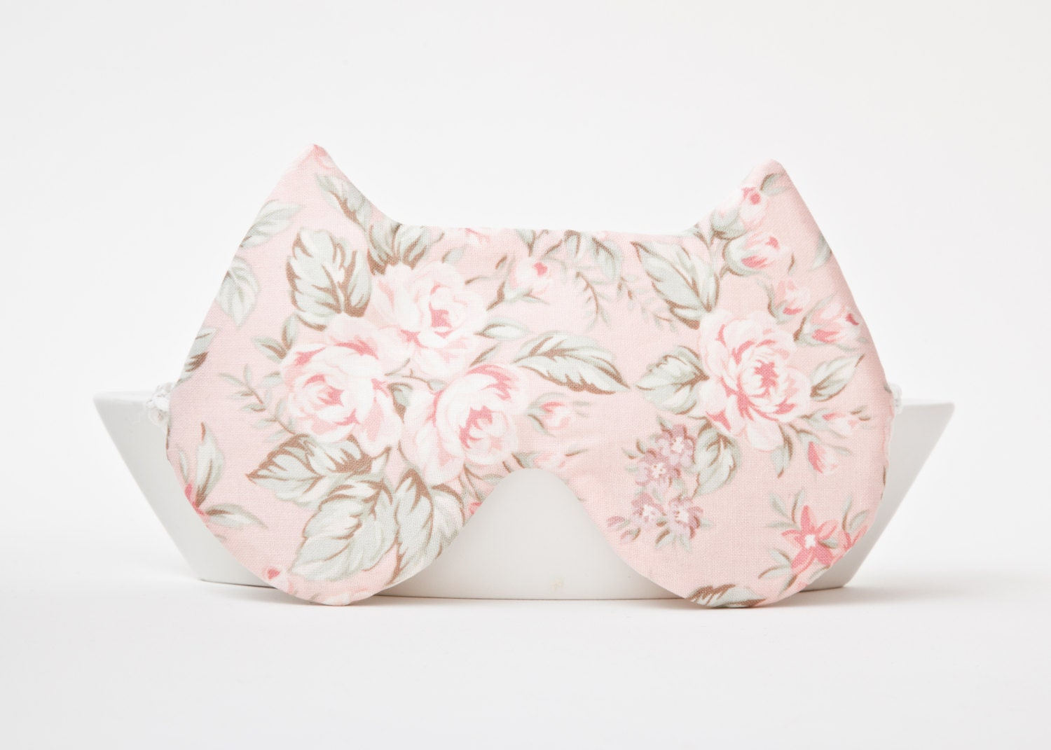 Sleep Mask Cat, Floral pattern - JuliaWine