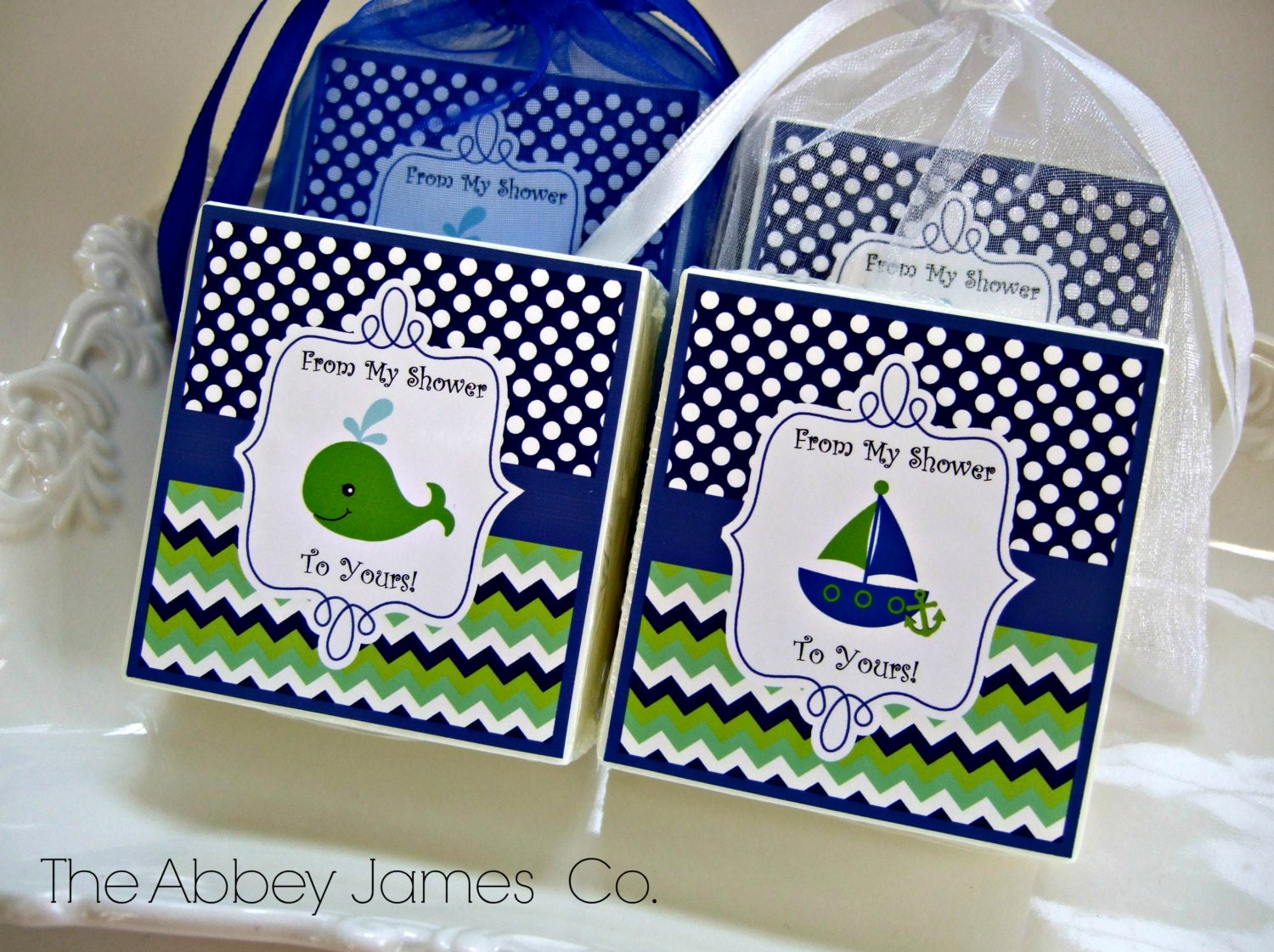 baby boy shower favors nautical theme shower by abbeyjames on etsy