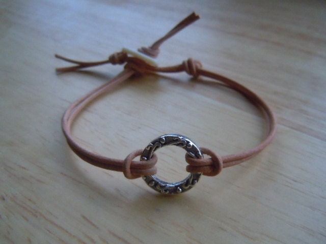 Good Karma Symbol Natural Leather Friendship by ...