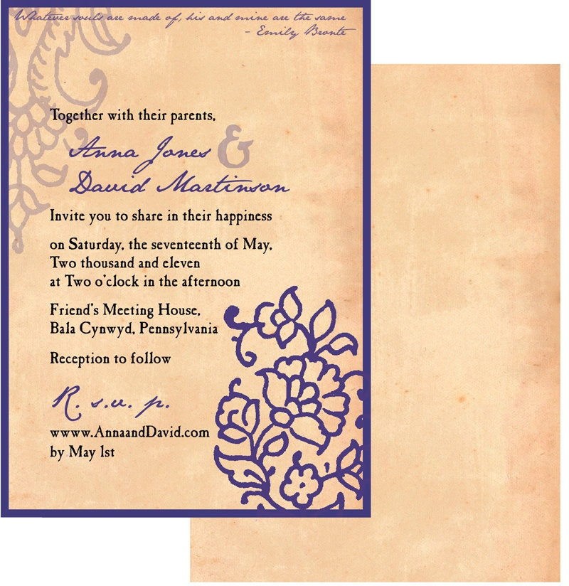 Half Saree Function Invitation Cards Matter In English Premium