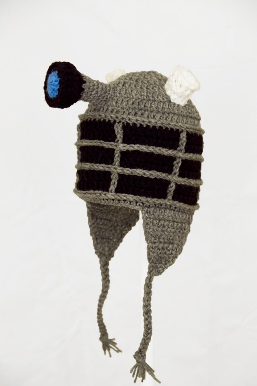 Knitting Pattern For Dalek Hat : GeekinOut on Etsy