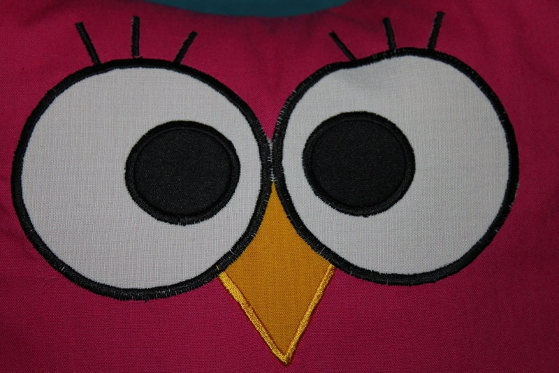 Your Toy Eyes Owl Eyes Applique INSTANT DOWNLOAD By Artapli