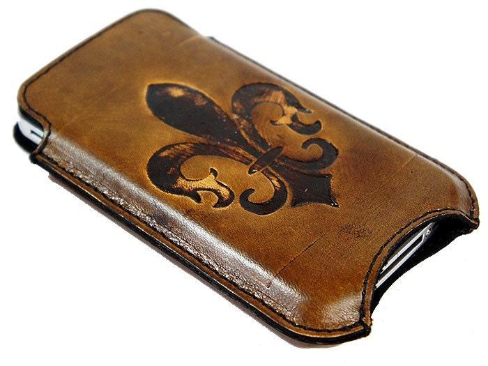 iPhone 4 Fleur De Lis Case - Fleur