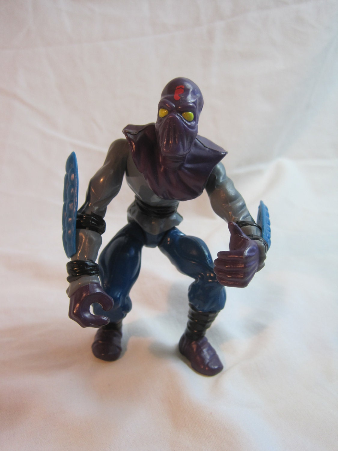 Vintage foot soldier 1988 tmnt action figure by founduniverse for Foot soldier