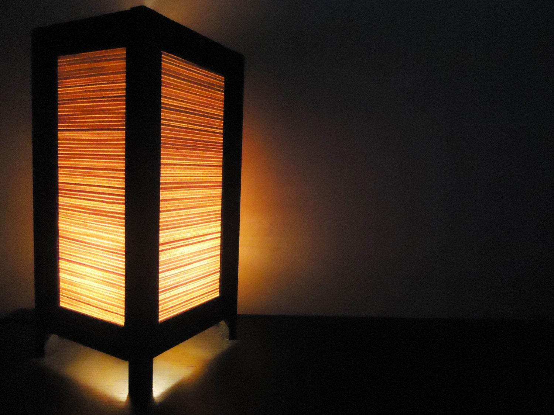 Asian Oriental Design Bamboo Art Bedside Floor Or By