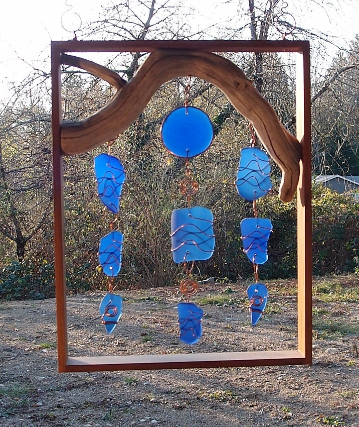 Unavailable listing on etsy for How to make stained glass in driftwood
