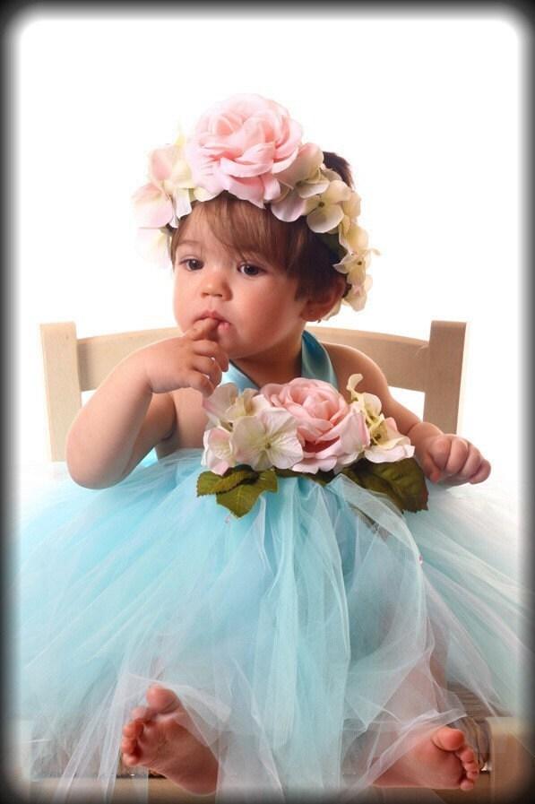 شیرین ترین عشق رز ورزشهای آبی نخ نما شیک لباس توتو مجموعه 3T 12 ماه نوزاد 2T