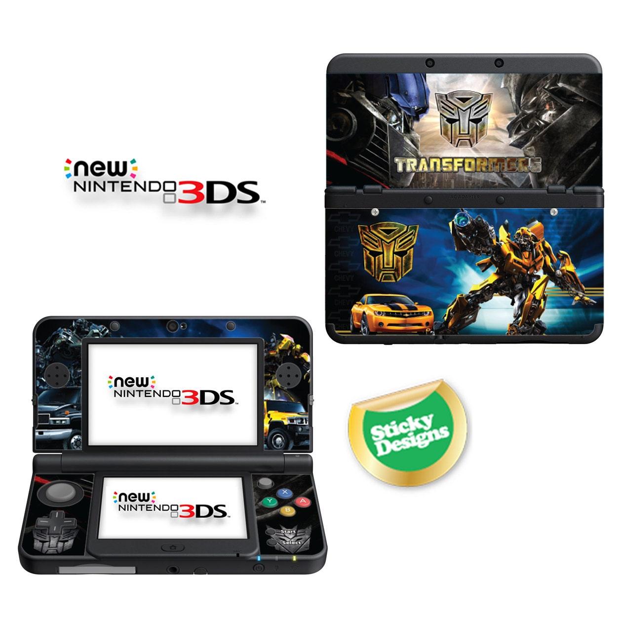 Transformers Vinyl Skin Sticker for Nintendo DS liteDSiDSi xl3DS3DS xlNew 3DS cstickNew 3DS xl cstick2DS