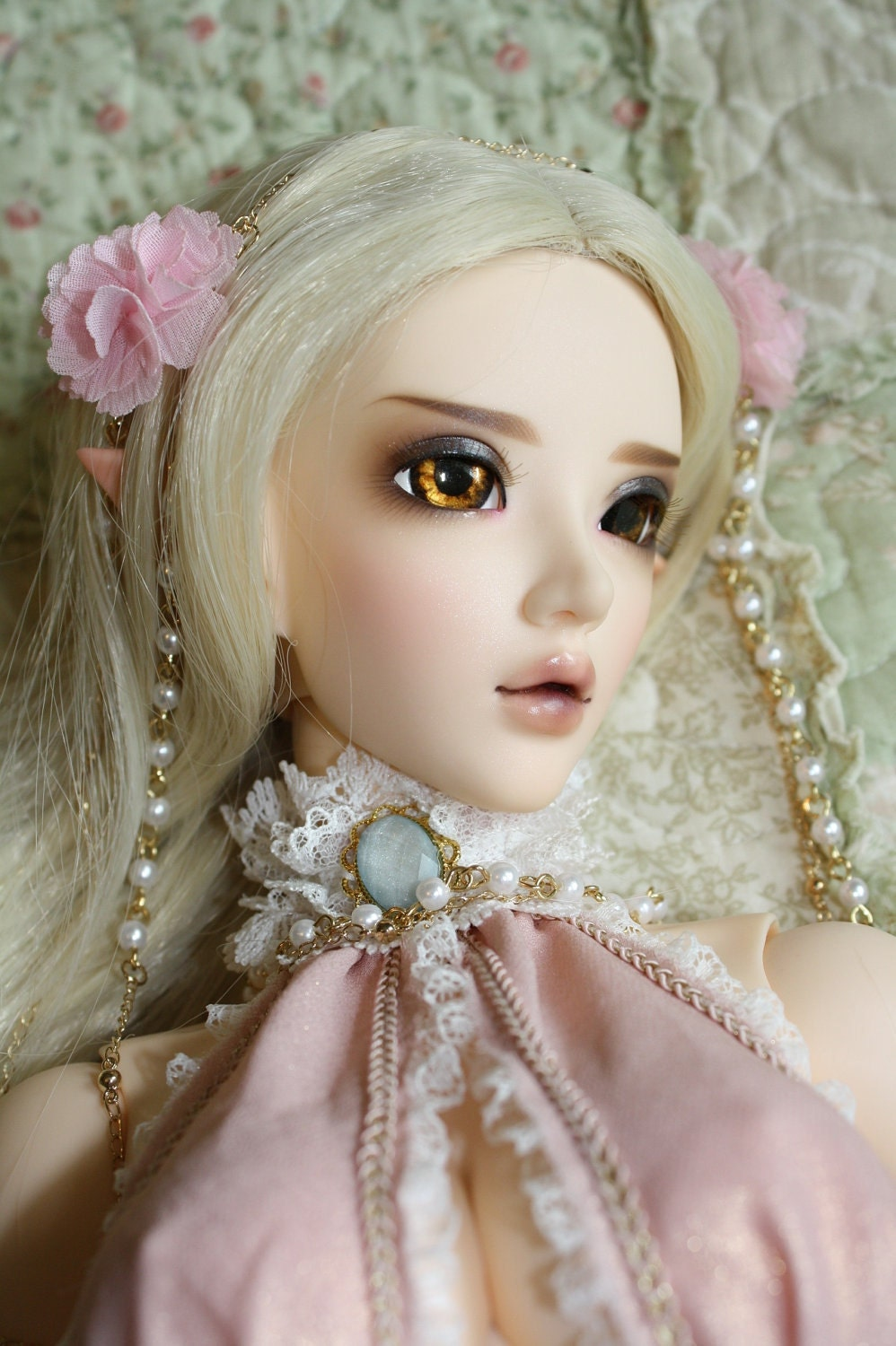 BJD eyes Doll eyes Hand made available in 12141618202224mm Burnished Copper made to order