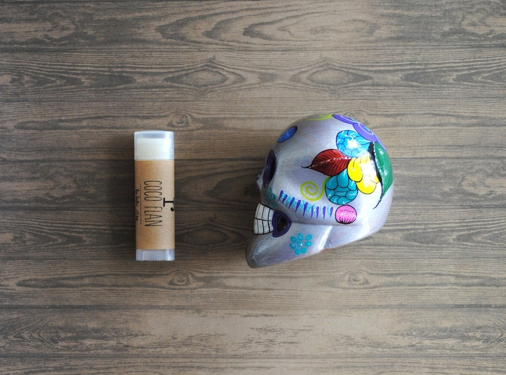 Coco Flan Lip Balm - Cocoa Butter, Shea Butter, Beeswax, Dessert Lips - ripeshop