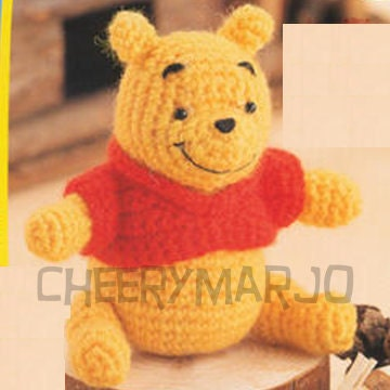 BABY FREE KNITTING PATTERN POOH WINNIE - VERY SIMPLE FREE KNITTING PATTERNS