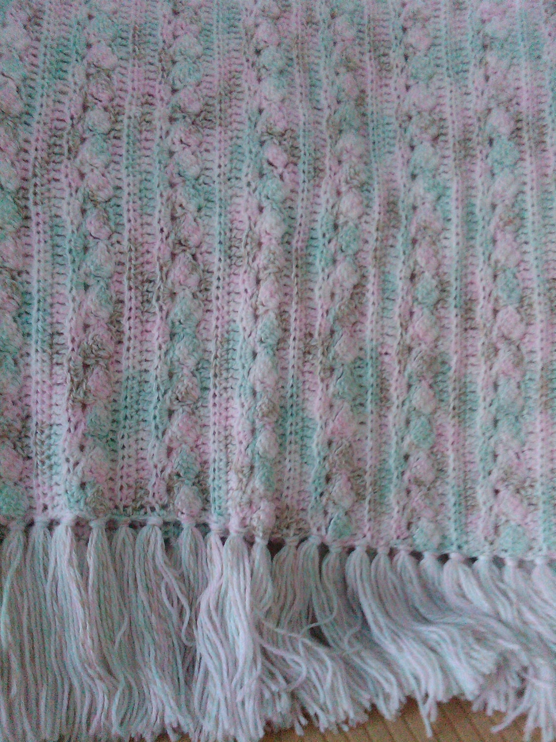 Fancy Cable Knitting Stitches : Cable Baby Blanket Pattern Patterns Gallery