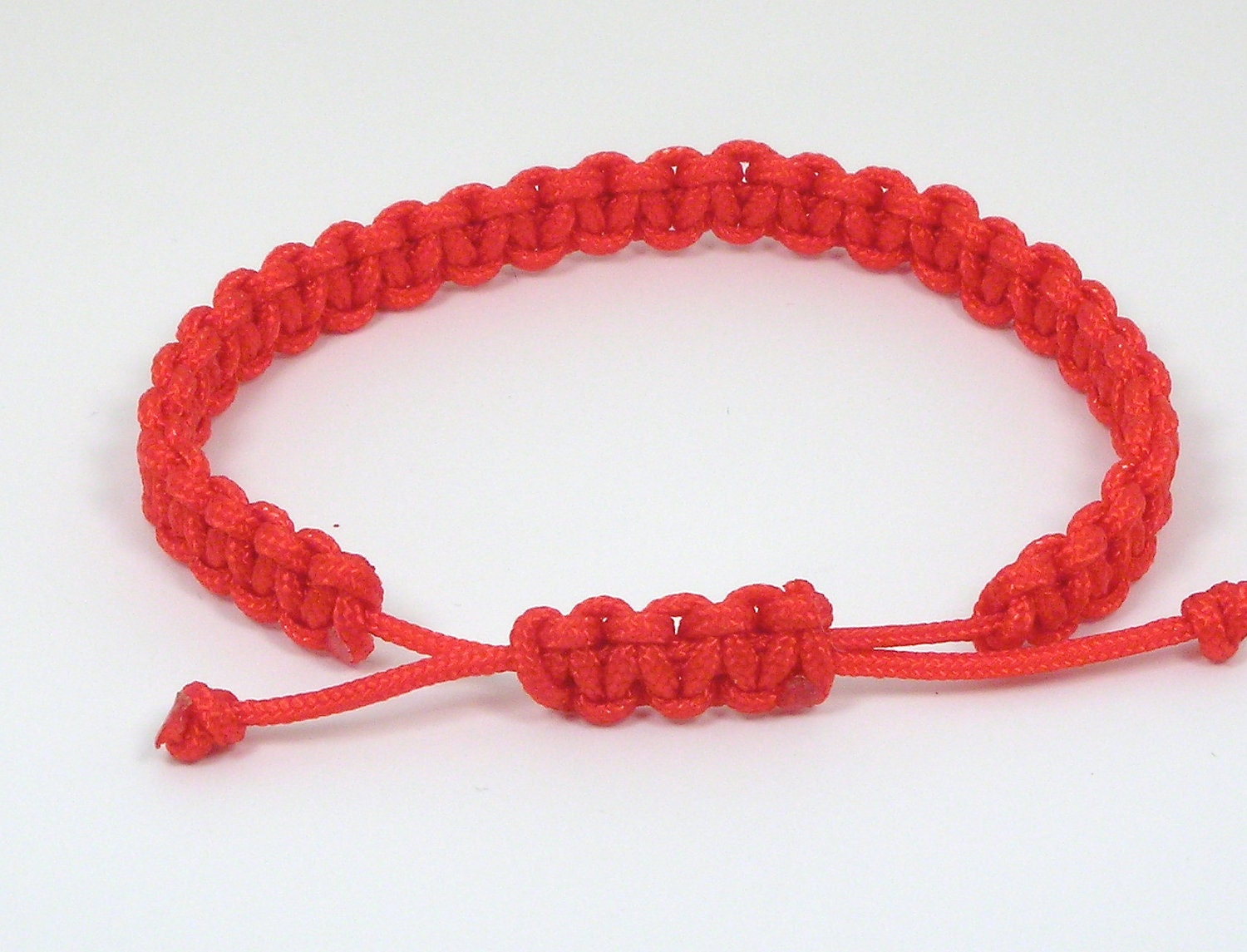 Mens Chinese Good Luck Red String Bracelet by chaoxia on Etsy