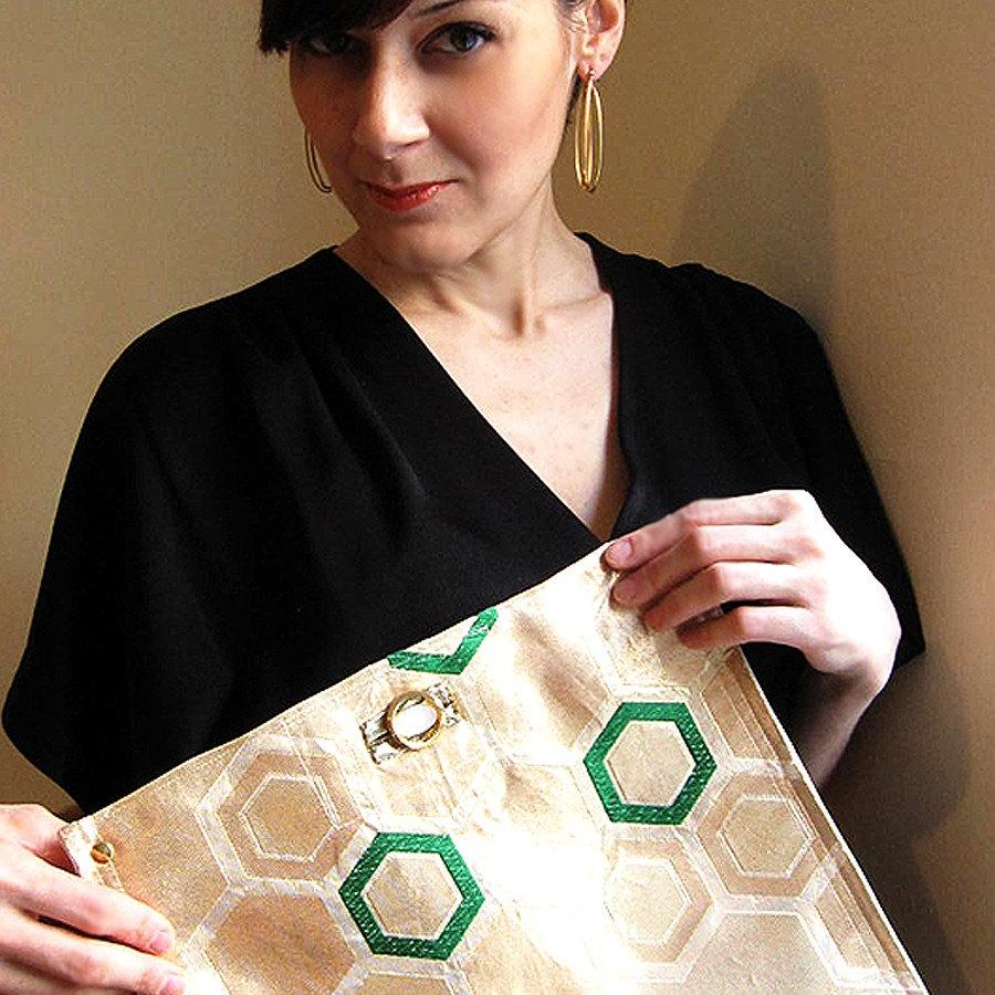 Patent Robinson Envelope Clutch | Womens Sale | ToryBurch.com