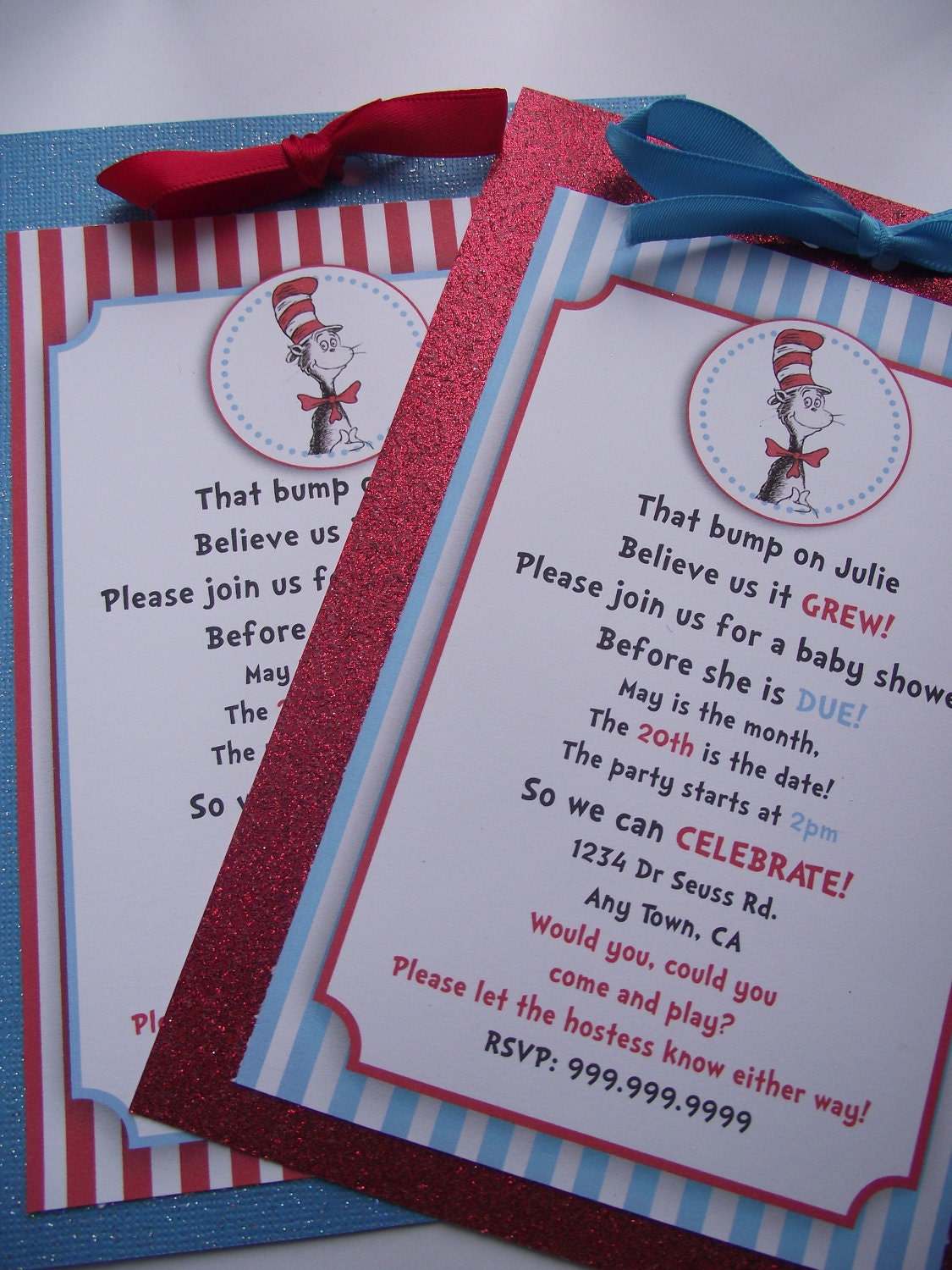 dr seuss cat in the hat baby shower or by sonnyandthesquid on etsy