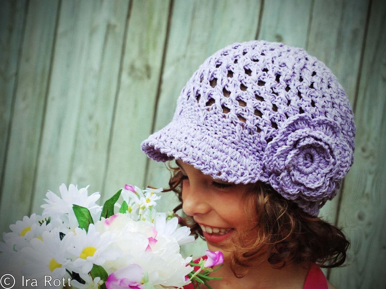 Crochet Geek - Crochet Hat with Brim - YouTube