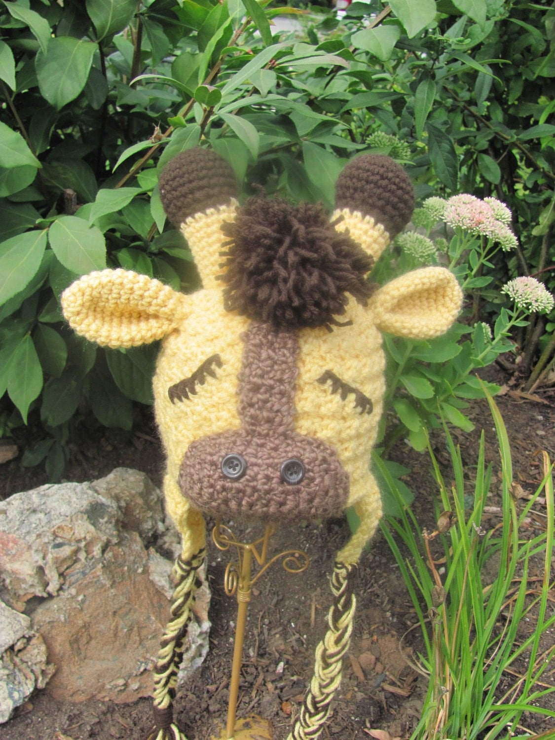 CROCHET PATTERN Sweet Slumber Giraffe Hat by ...
