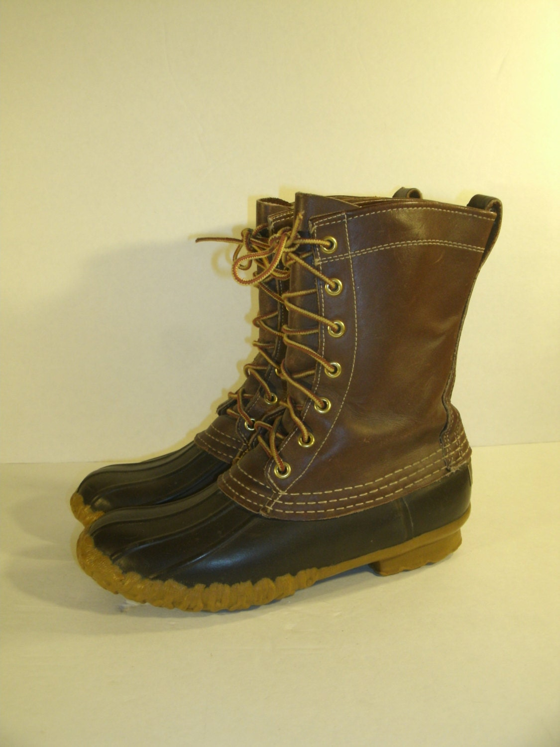 Excellent Womenu0026#39;s Size 7 Vintage LL Bean Duck Boots Maine Hunting
