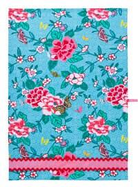 SALE - Paris Flower Market design - DISH Tea TOWEL - Premium Cotton - Bright and Colorful - mountainlodge