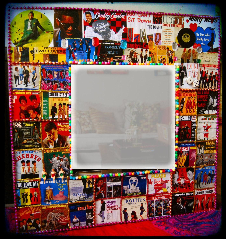 Items Similar To Motown Music Art Home Decor Mirror Funky