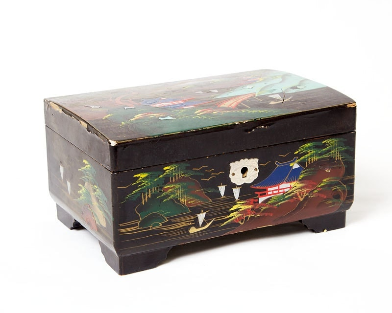 Japanese Black Lacquer Jewelry Box Jewelry Ideas
