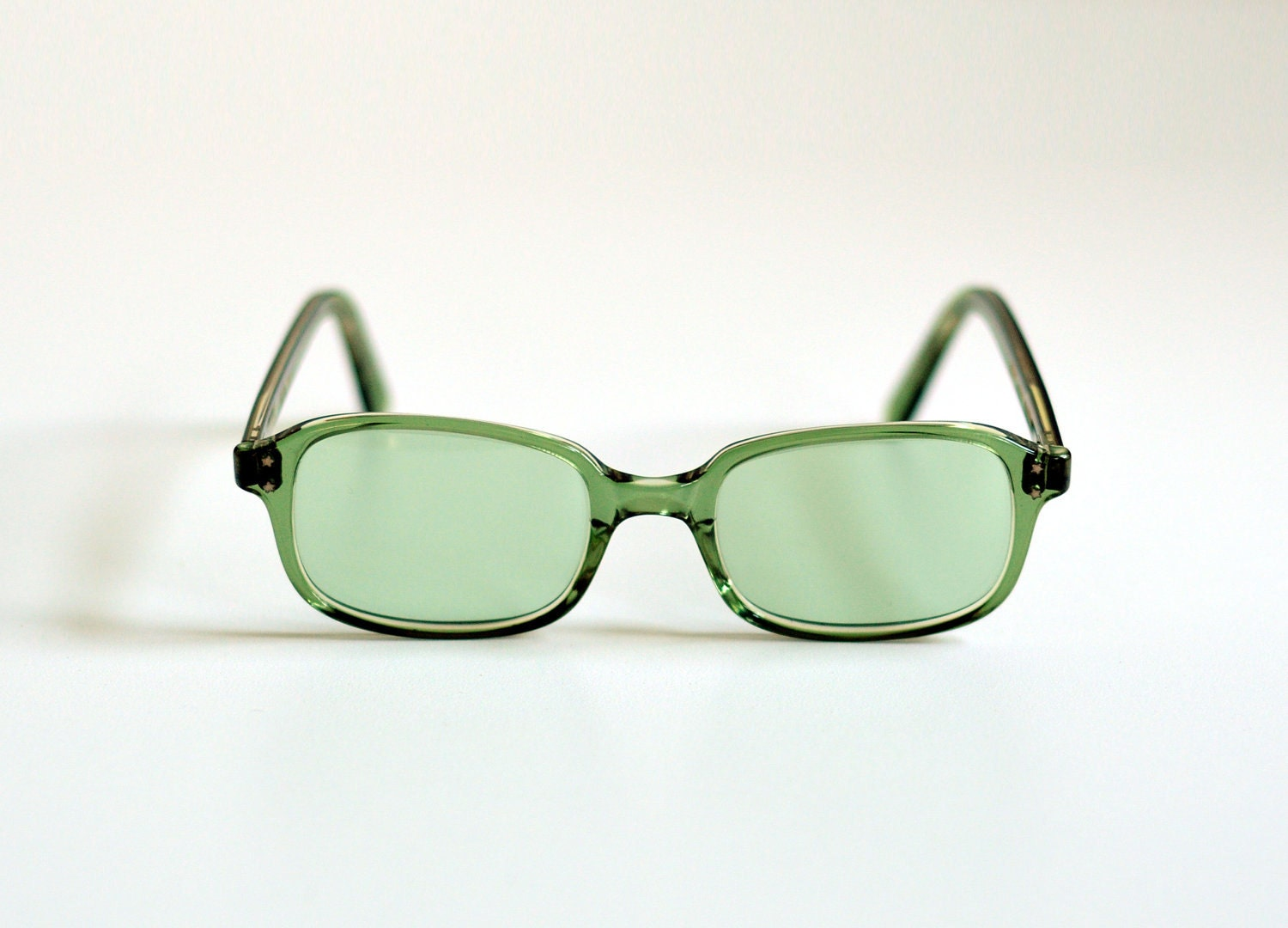 olive green sunglasses tinted lenses by carnivalofthemaniac