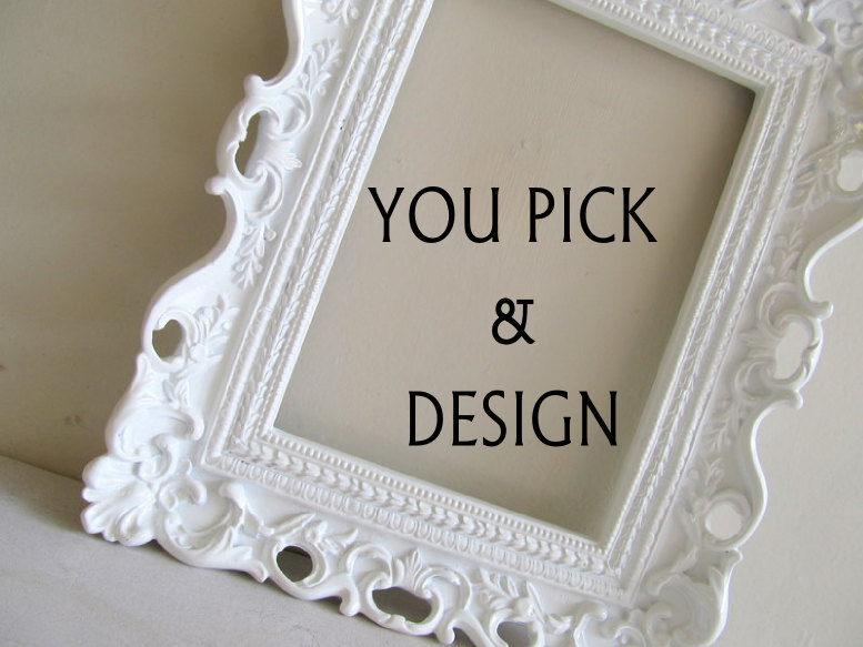 Magnet Board or Chalkboard Wedding Table Number Picture Frame Nursery Baby