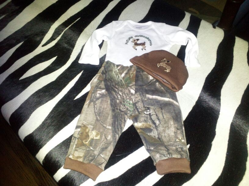 Baby camo outfits hunting fishing outdoors by for Baby fishing outfit