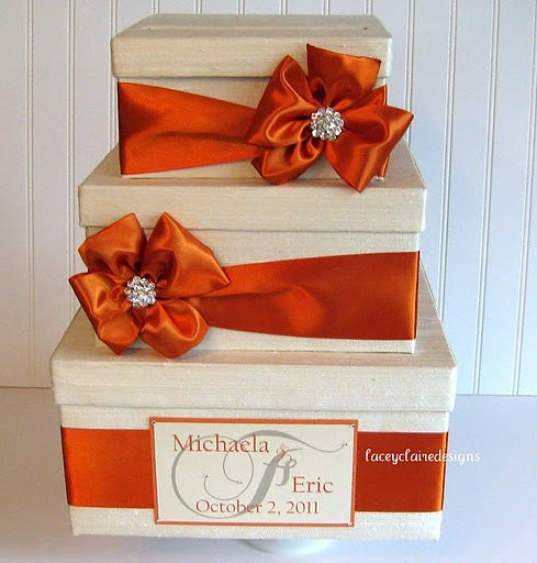 Items similar to Wedding Gift Card Money Box Holder - Custom Made on ...