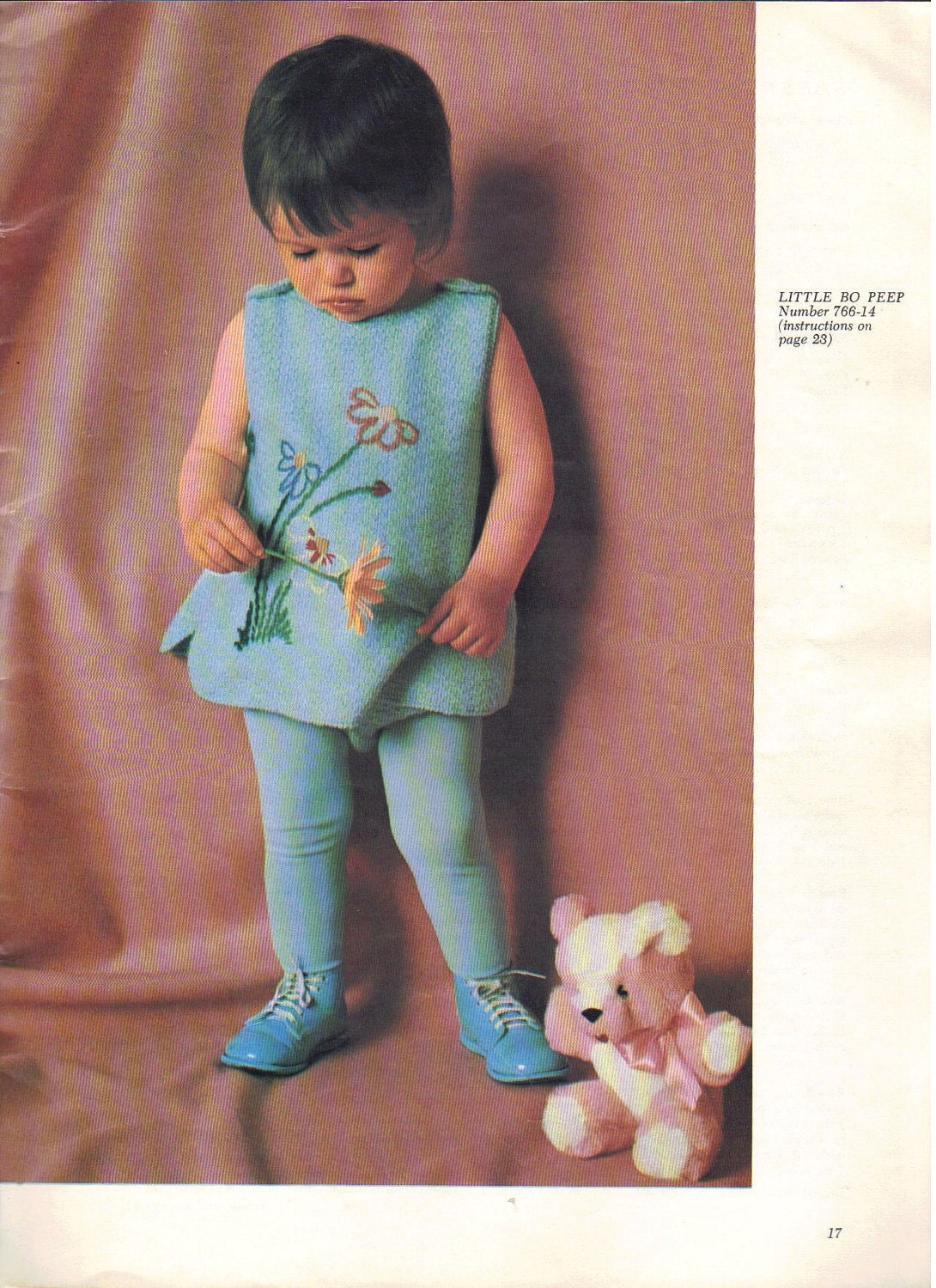 Retro 1960s Pattern Book for Crochet Knitting Baby Children Fashion Vintage Knit Pants Sweater Blanket Hats Instructions - AdeleBeeAnnPatterns