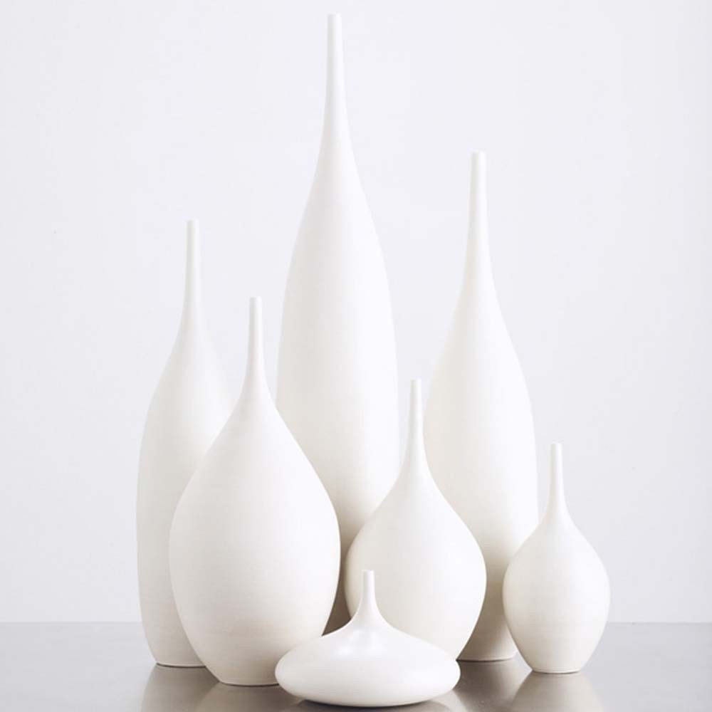 7 piece White Matte Bottle Collection by Sara Paloma - sarapaloma