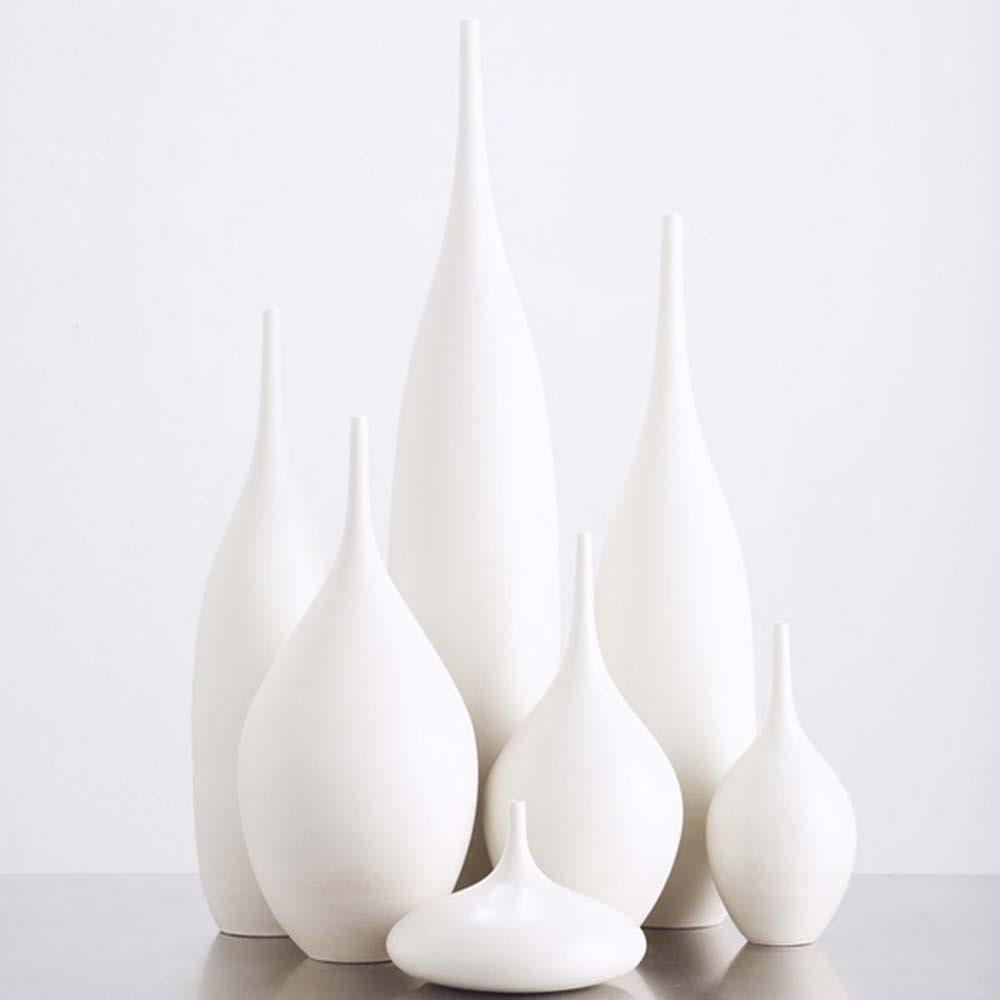 7 modern ceramic pottery bottle vases in organic by sarapaloma. Black Bedroom Furniture Sets. Home Design Ideas