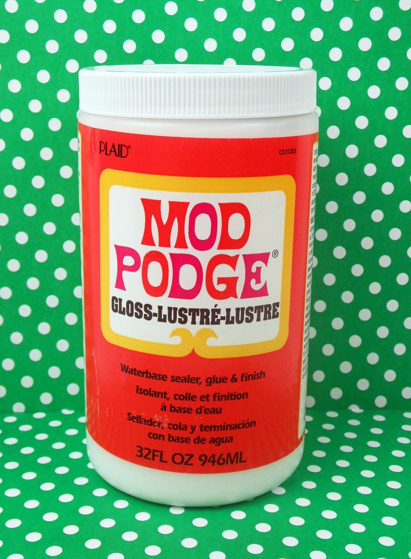 Mod Podge Glossy Decoupage LARGE