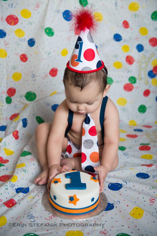 Baby Boy Toddler Cake Smash Birthday By Fuzzycheeksboutique
