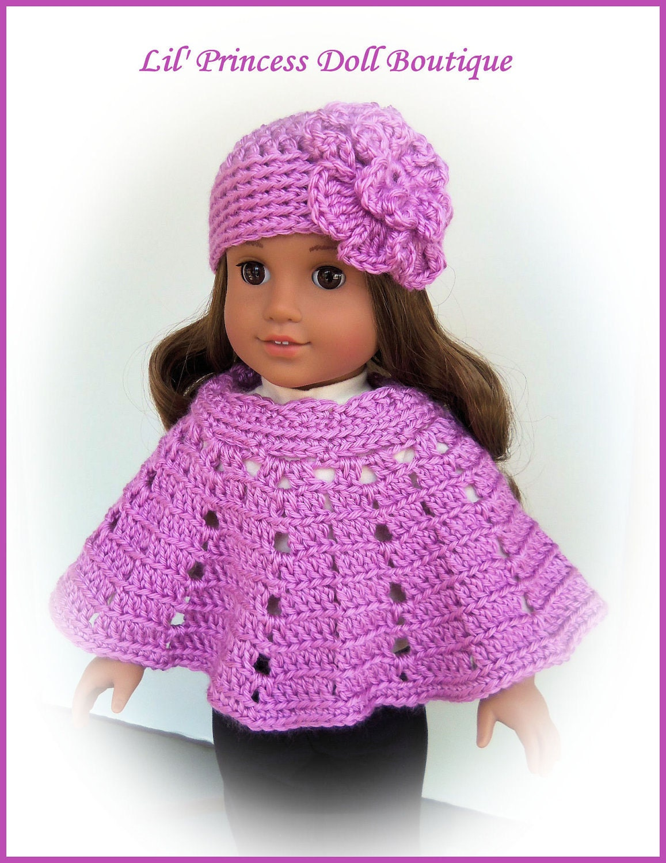 Made For American Girl Dolls Crochet by LilPrincessDollStore