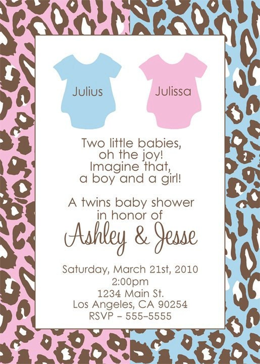 twins baby shower invitation by dpdesigns2012 on etsy