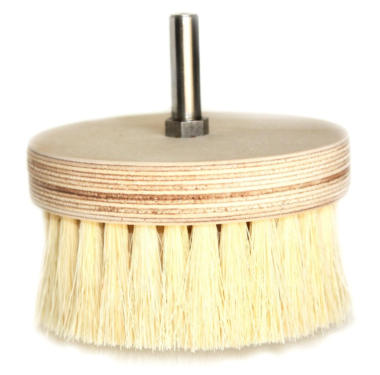 Pine Drill Wax Buffing Brush - BlueMineralsCPP