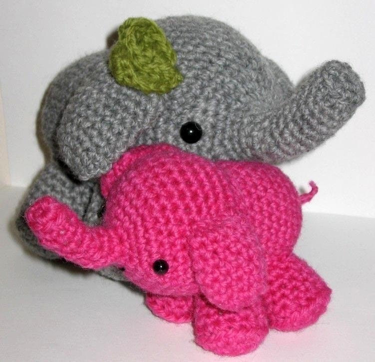 Amigurumi Crochet Elephant Pattern review at Kaboodle