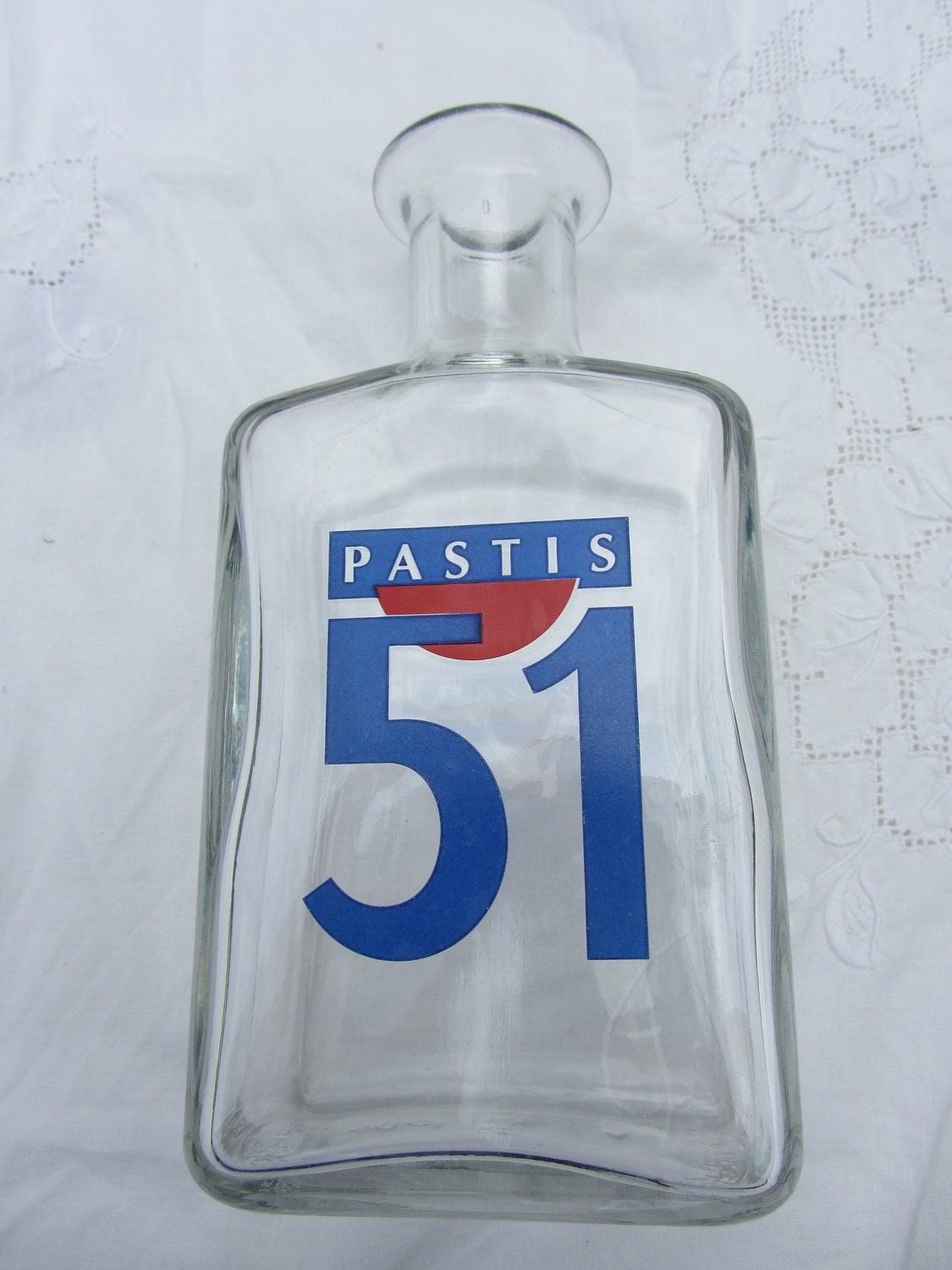 French vintage pastis 39 51 39 carafe with 4 by poitoubrocante for Carafe pastis 51 piscine