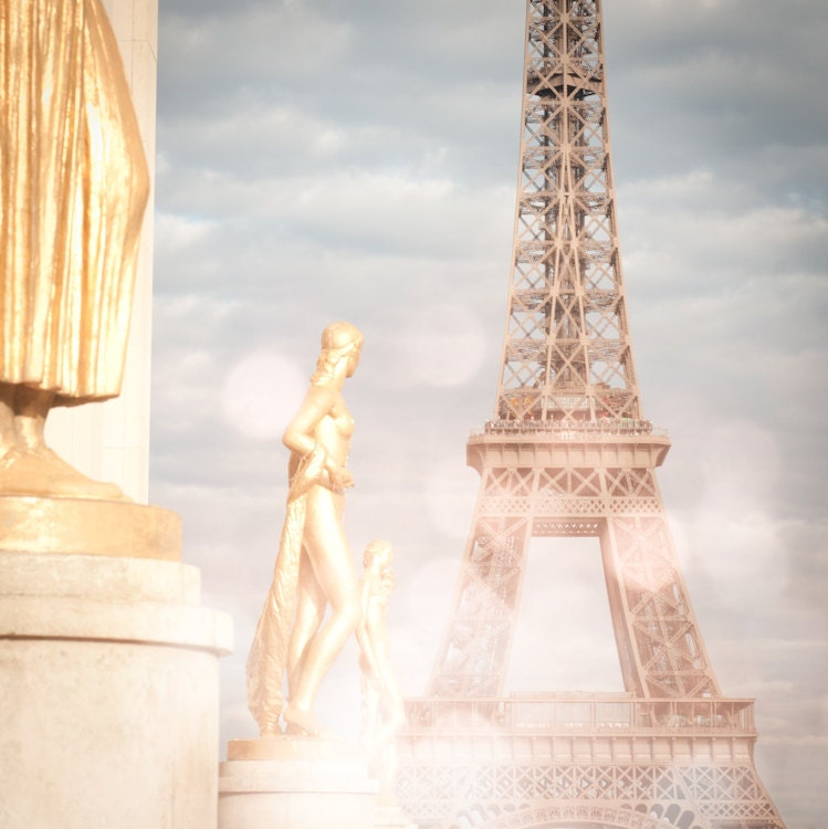 Paris Photo - Париж Light - Эйфелева башня, Париж, Франция, Французская изобразительного искусства Путешествия Фотография