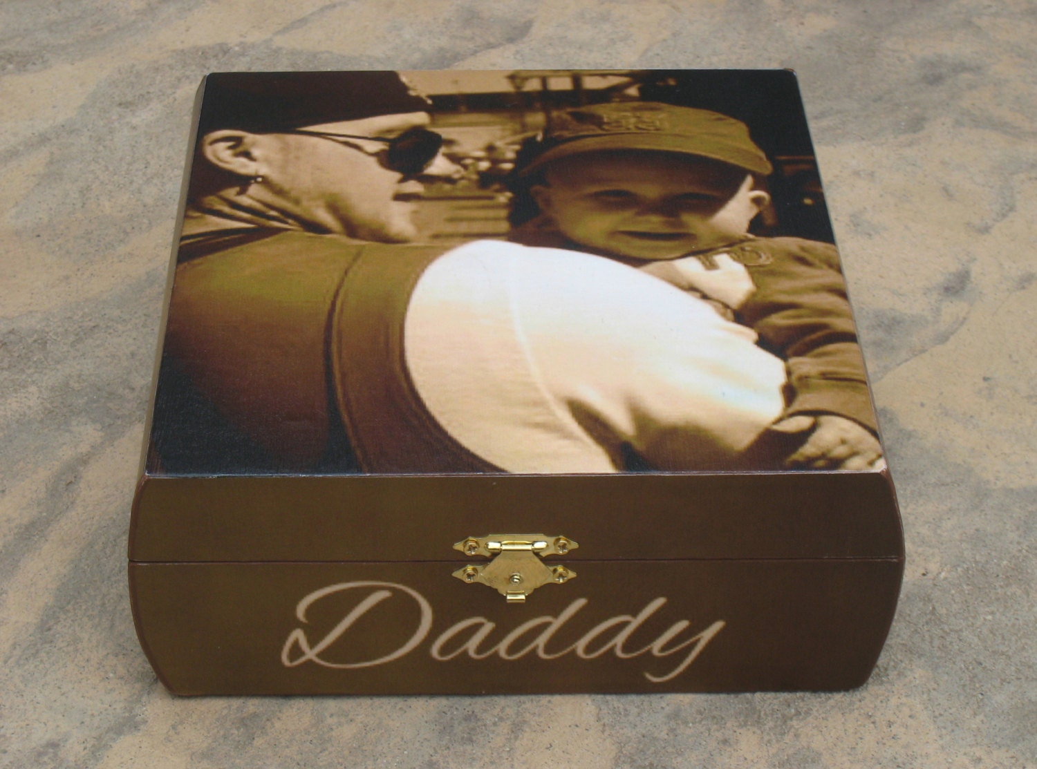 Personalized Photo Keepsake Box By Designsbypicturethis On