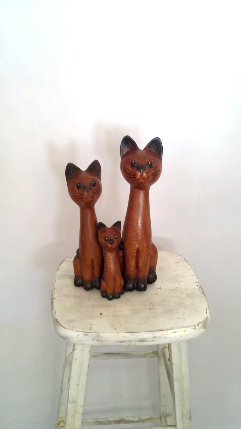 Vintage Cats Cat Art Home Decor By Rorylaruevintage On Etsy