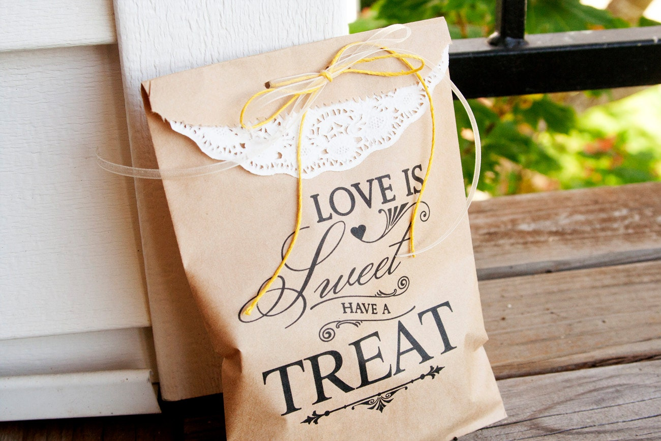 Wedding Favor Bags For Cookies : favorite favorited like this item add it to your favorites to revisit ...